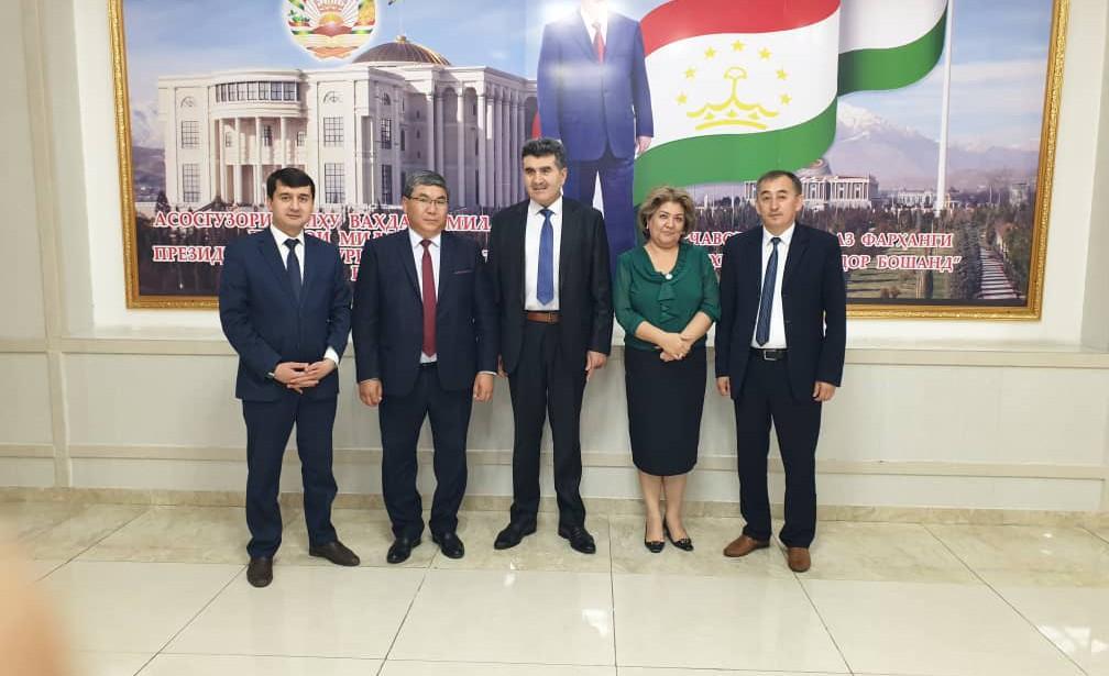 Визит директора КАИ в Республику Таджикистан