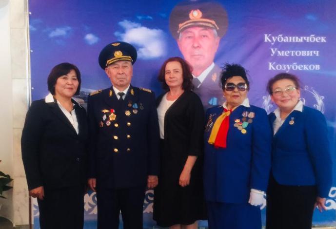 80-летие ветерана кыргызской авиации Кубанычбека Уметовича Козубекова